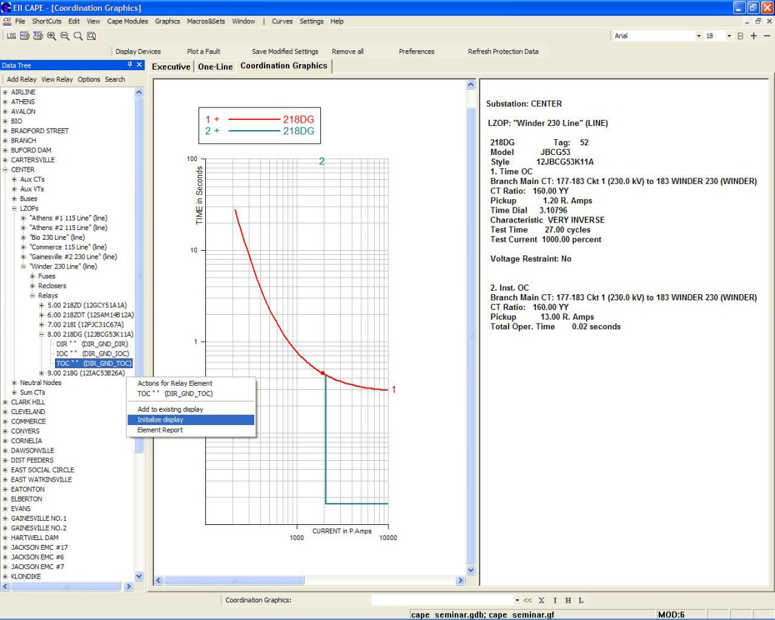 PSS®CAPE | PSS® power system simulation and modeling
