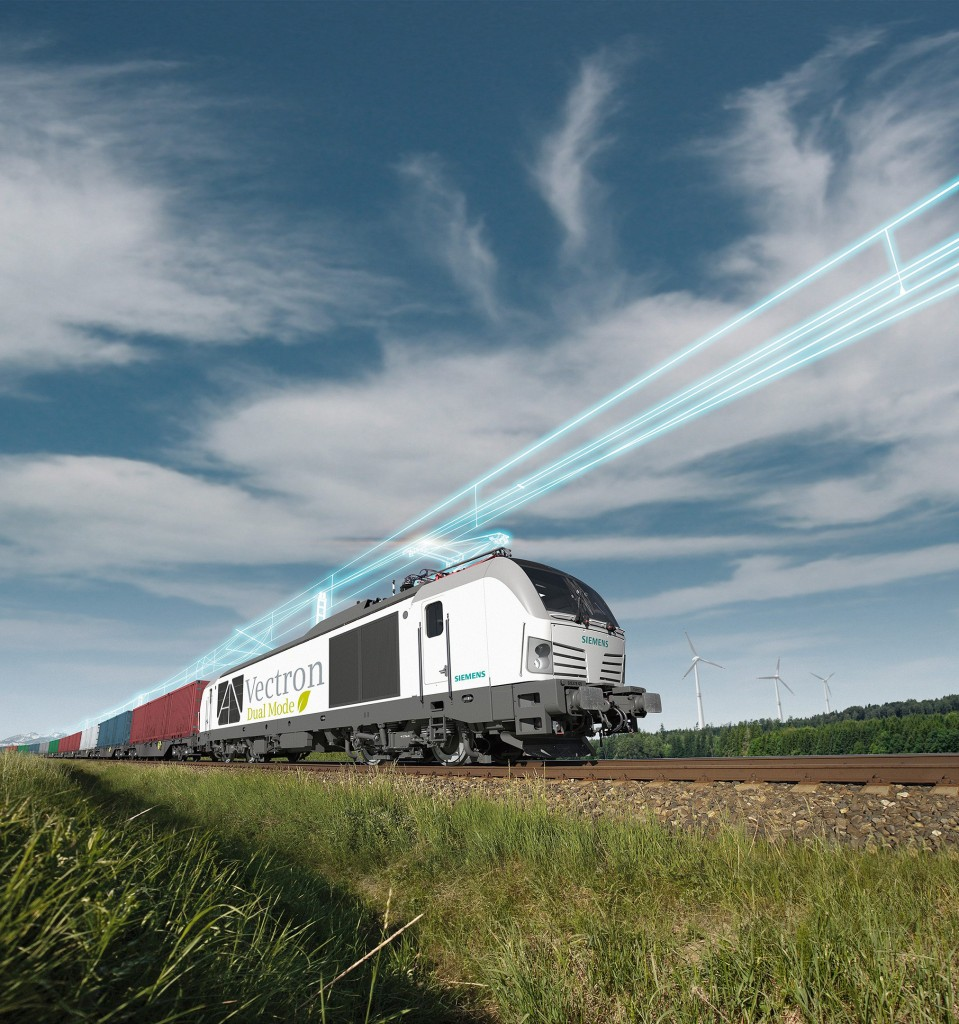 Siemens Mobility presents new Vectron Dual Mode locomotive