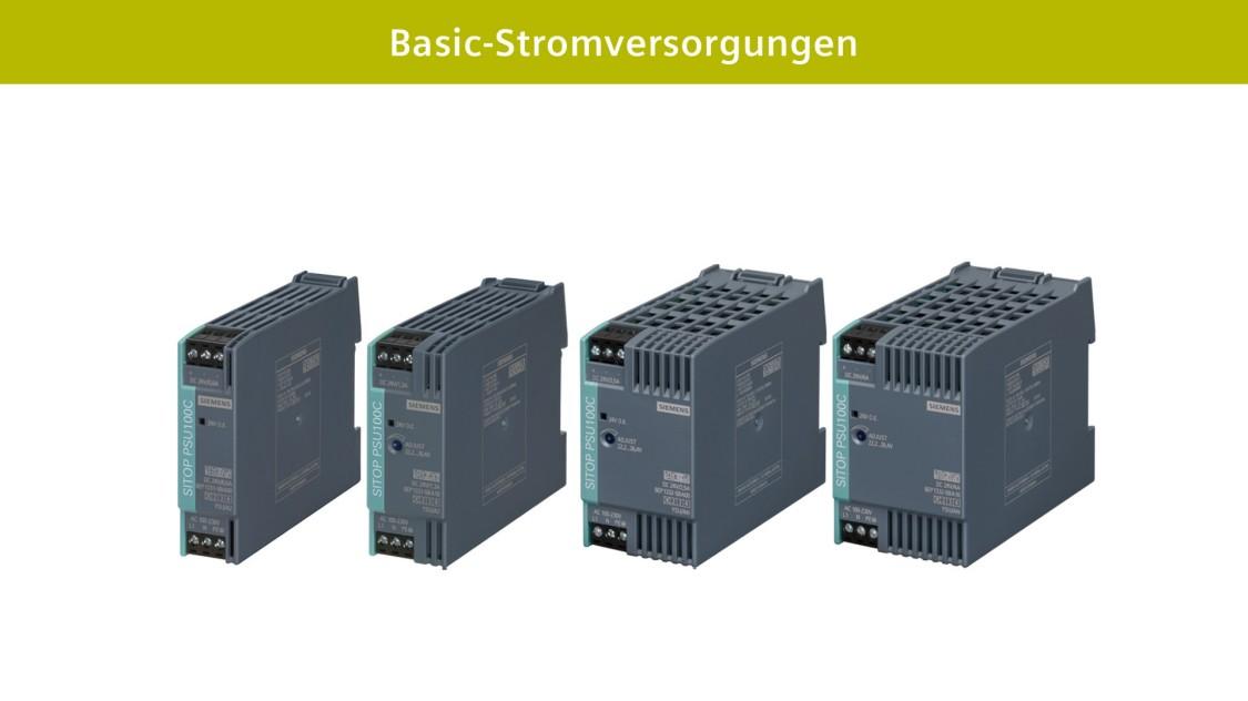 Basic-Stromversorgungen SITOP compact