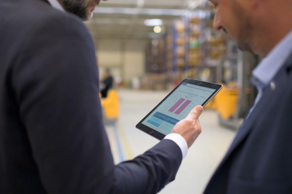 Für die Beobachtung und Auswertung der Energieverbräuche nutzt Hagemeyer eine exklusiv für die Rexel Group programmierte MindSphere App.