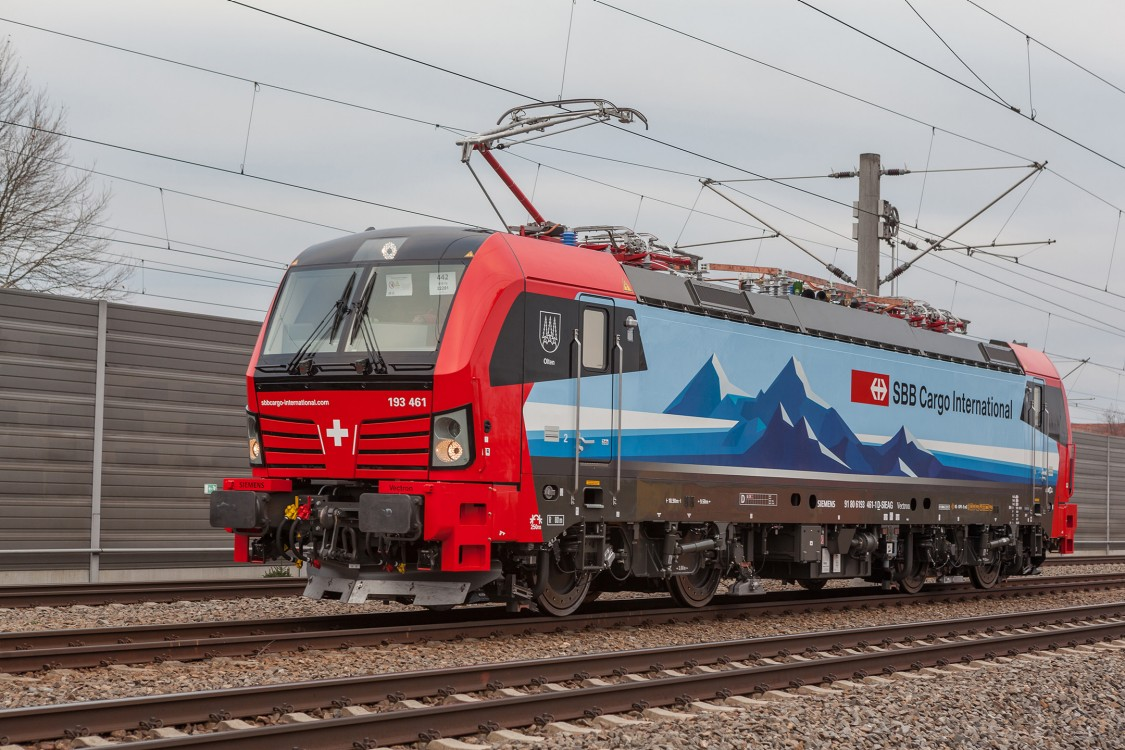Lokomotywa Vectron dla PKP Cargo