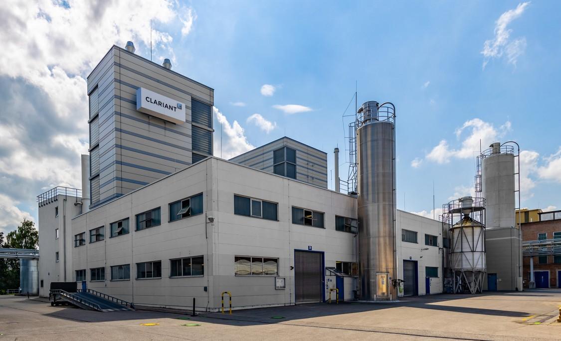 Clariant Fabrik von außen