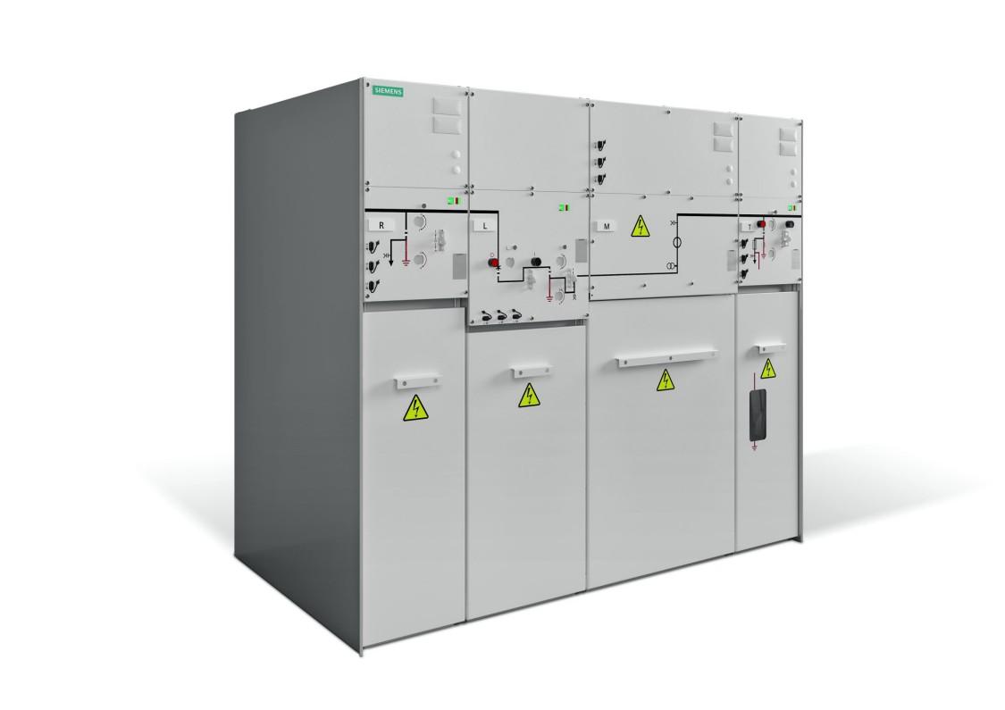 SIMOSEC Rozdzielnica średniego napięcia w izolacji gazowej 24 kV