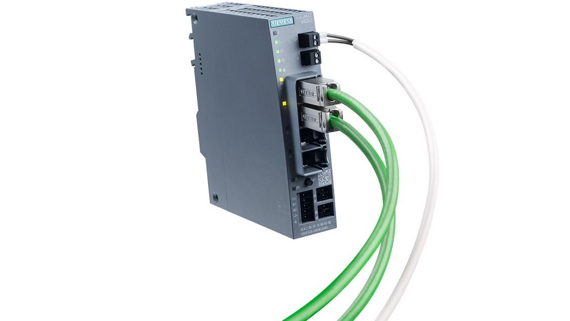 Bild des Siemens-Industrie-Router mit Zweidrahtleitung