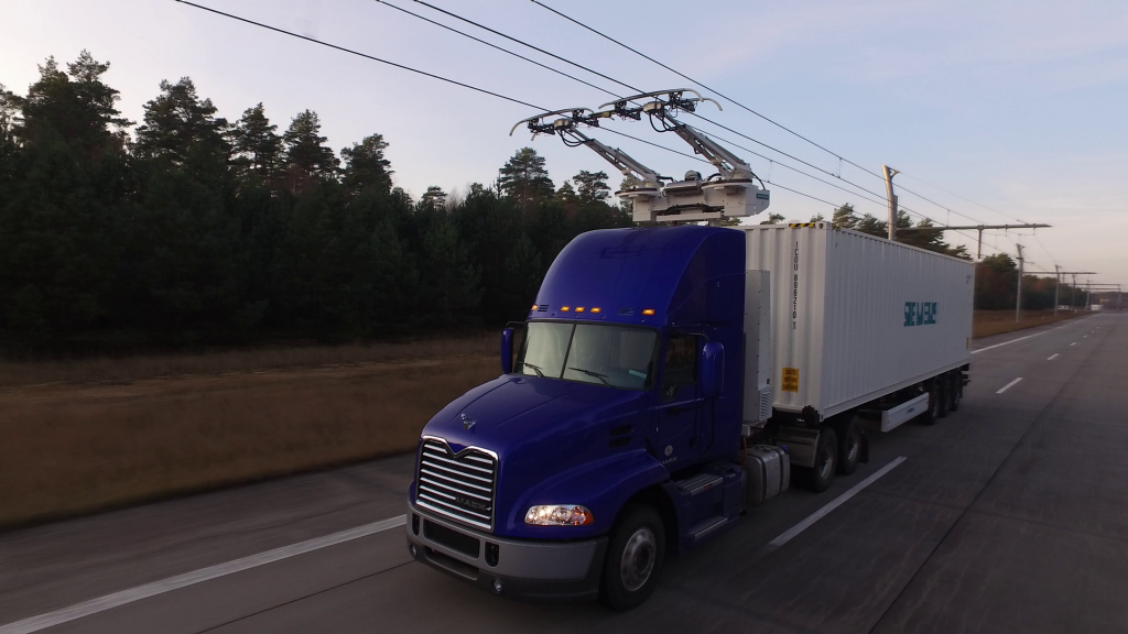Siemens tests eHighway system in California