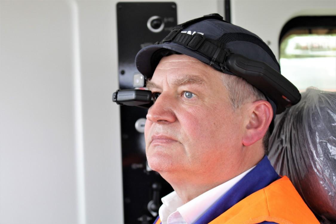 Datenbrille für Ferninspektionen von Lokomotiven