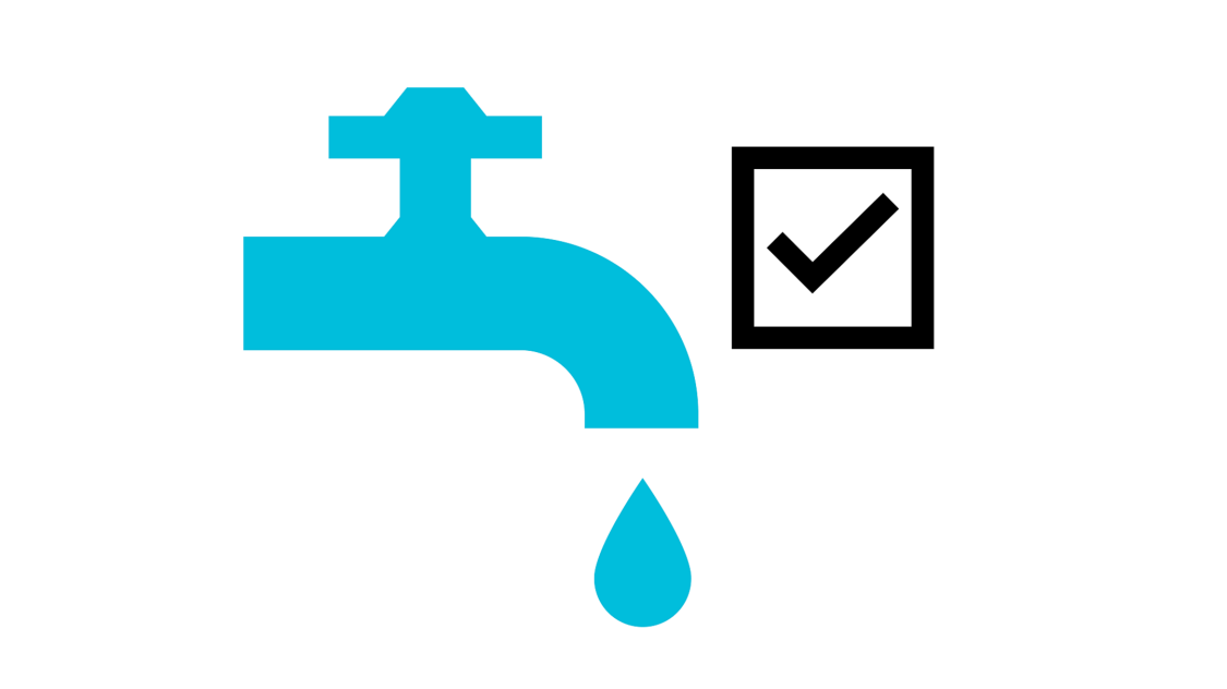 Icon showing accurate flow control