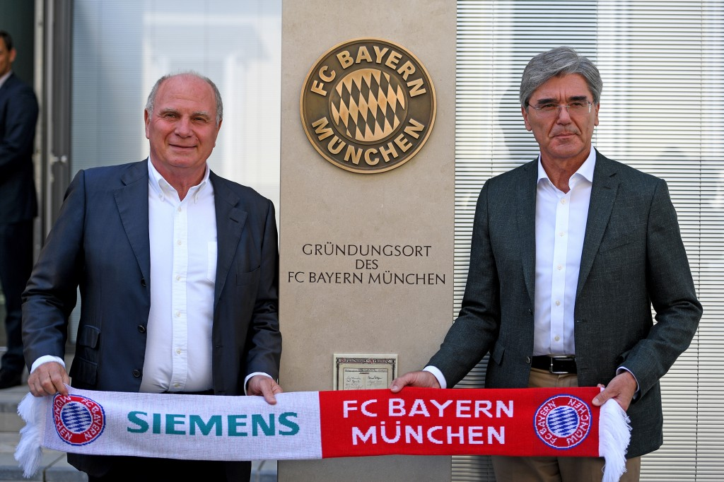 Historic location where FC Bayern Munich was founded