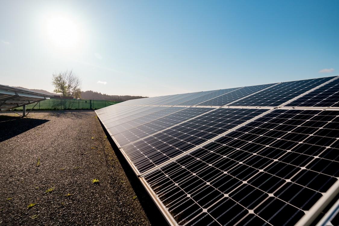 Blue Lake Racheria Solar panels