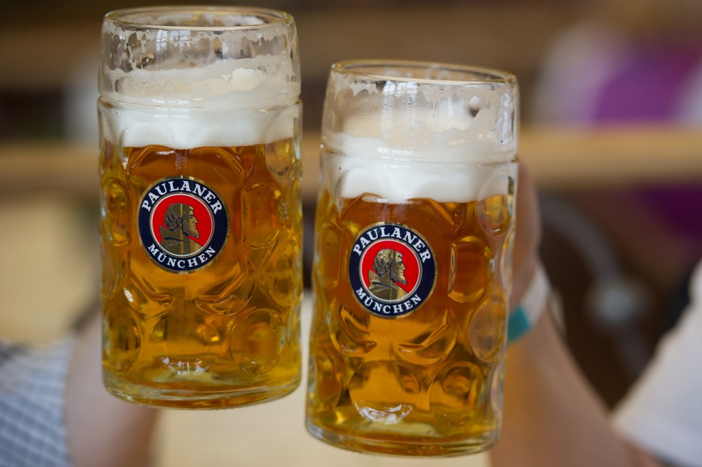 Münchnerinnen im Bierhimmel