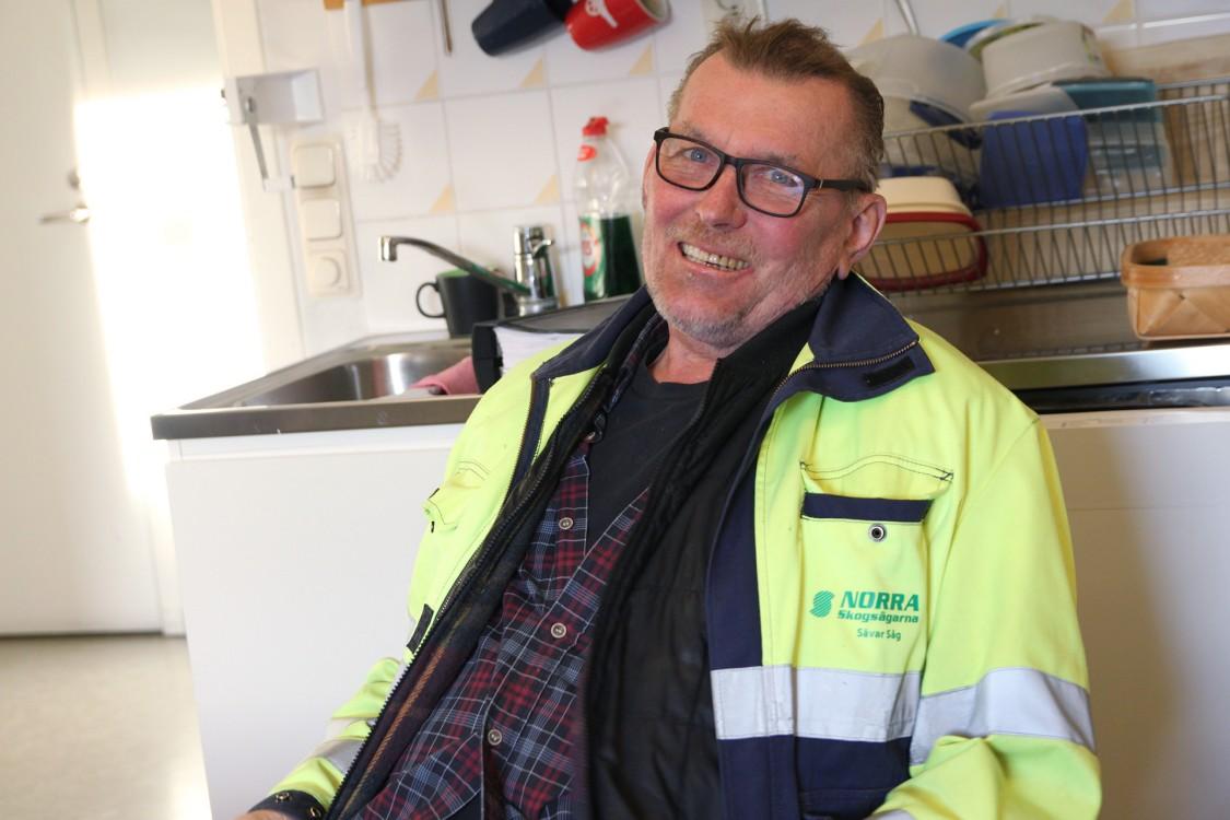 Stig Grundberg, f.d. sågverkschef och doktor i röntgenteknik.