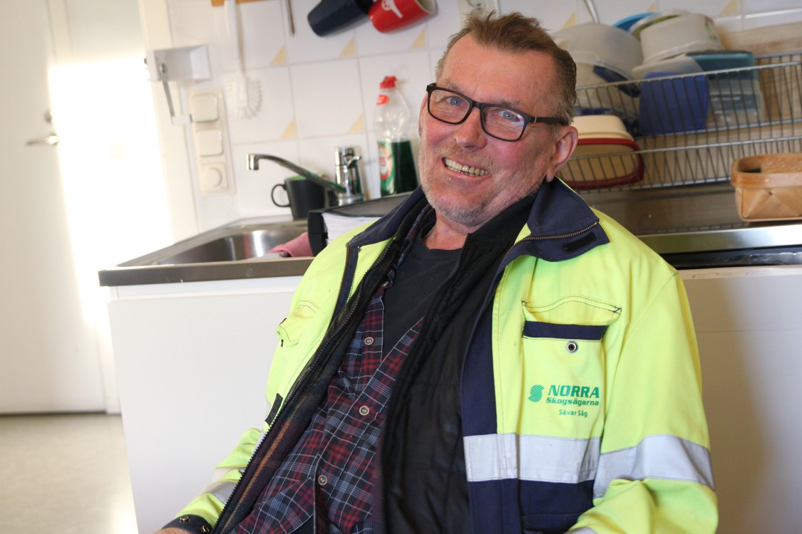 Stig Grundberg, f.d. sågverkschef, numera Senior Advisor, och doktor i röntgenteknik.