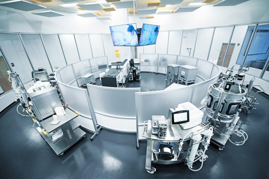USA | modern single use pharmaceutical facility