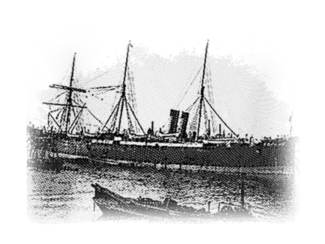 Using 'Faraday', the ship specially designed by William Siemens, the company laid the first telegraph cable from Ireland to the USA, enabling transatlantic telecommunications.