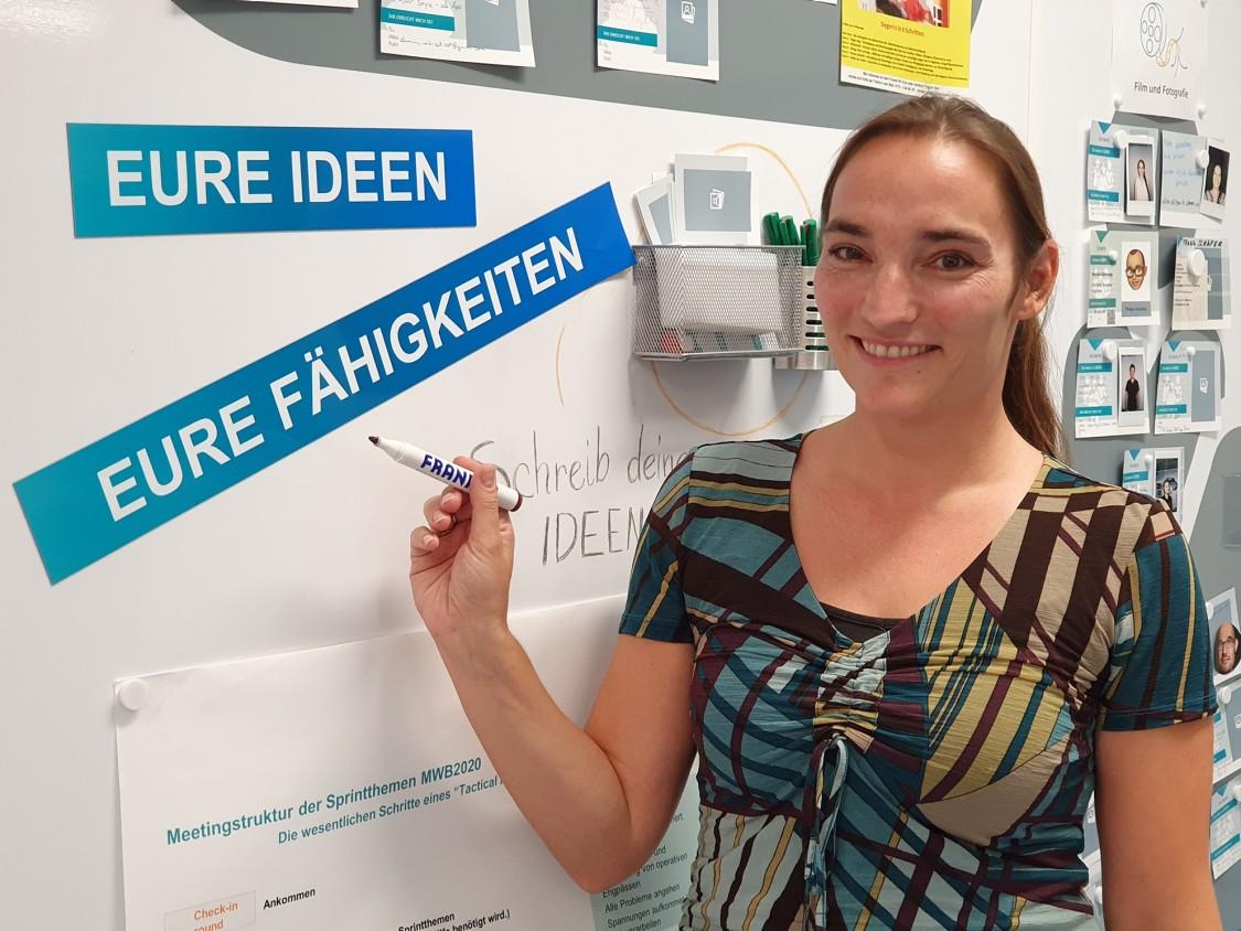 Stefanie Klicks, Beauftragte für Kulturwandel im Messgerätewerk Berlin von Siemens.
