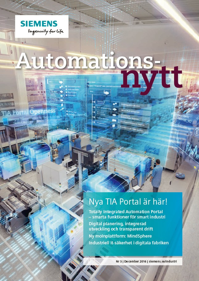 Automationsnytt Nr 3 | December 2016