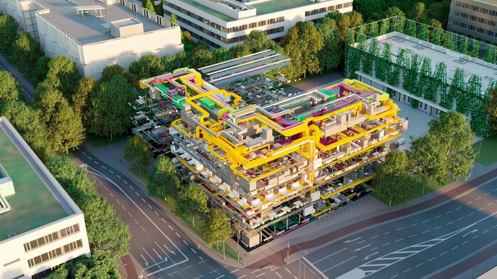 neues Laborgebäude des Campus Erlangen