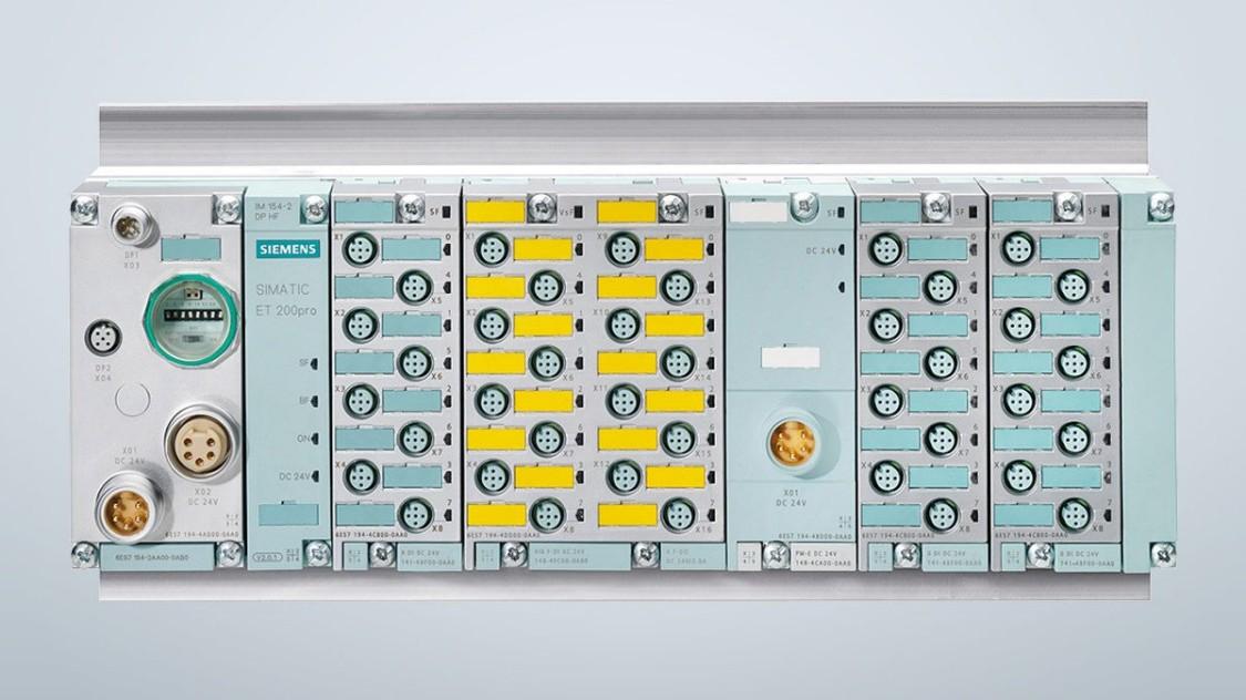 SIMATIC ET200pro - компактна багатофункціональна система зі ступенем захисту IP65 / 67