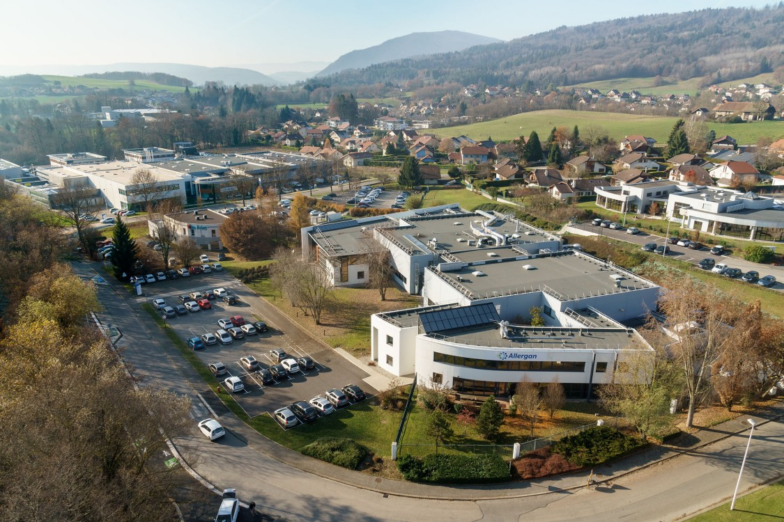 Laboratoire Allergan à Annecy-Pringy