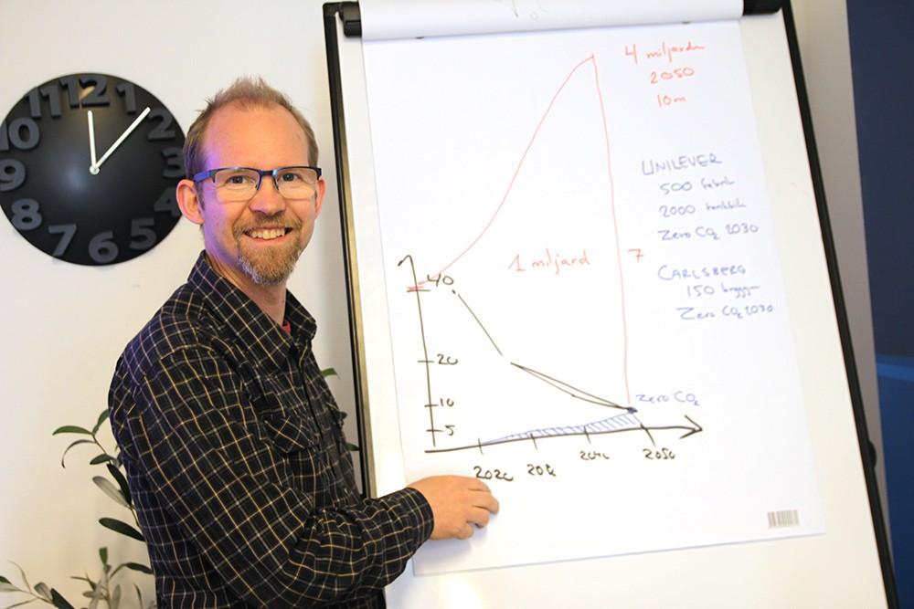 Grundare, vd och grubblare: Joakim Byström vill ändra på världens energiförsörjning.