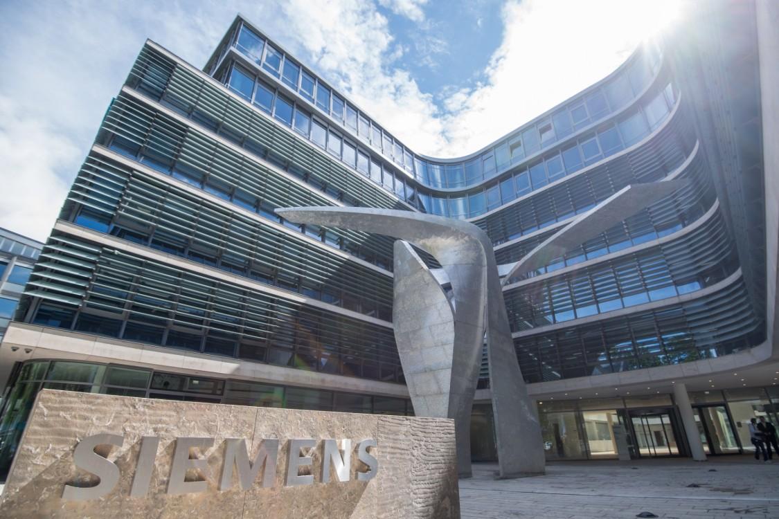Image of Siemens corporate office building