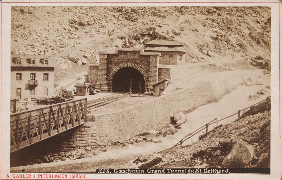 Weltweit mit Aufmerksamkeit bedacht – Bau und Eröffnung des ersten Gotthardbahntunnels, 1882