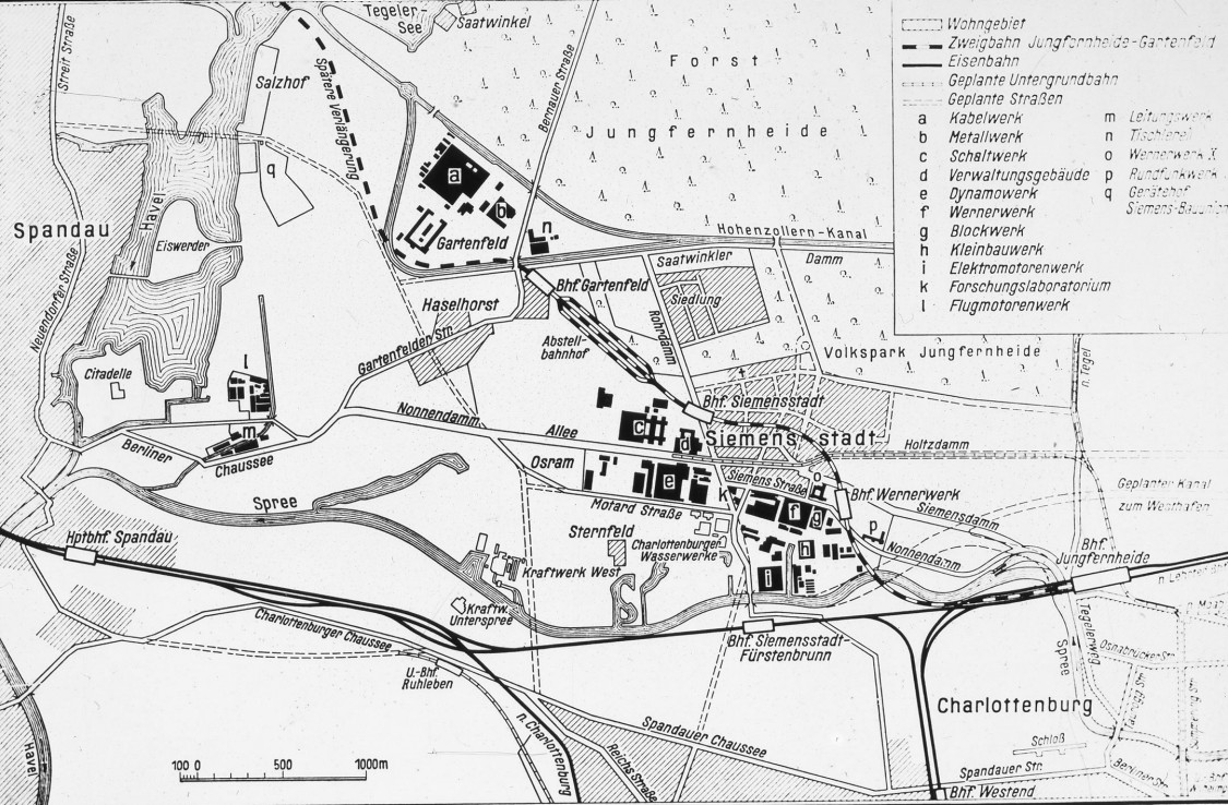 4.7 kilometers across bridges, a viaduct and embankments – from Jungfernheide to Gartenfeld