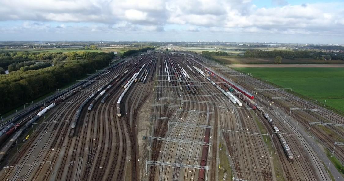 Holandia - towarowa stacja kolejowa