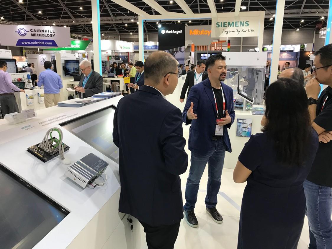 Siemens Technology Partners Fortinet & Nozomi @ITAP 2019