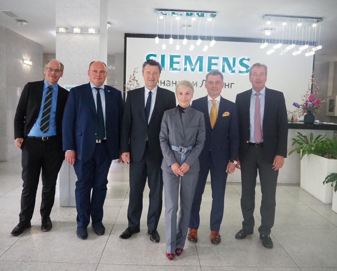 Посол ФРГ в РФ посетил головной офис Сименс Финанс