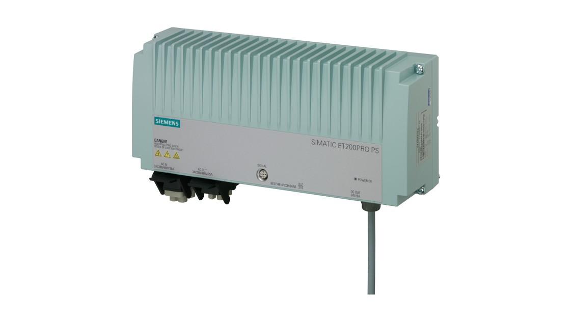 Produktbild SIMATIC ET200pro PS, 3-phasig, DC 24 V/8 A