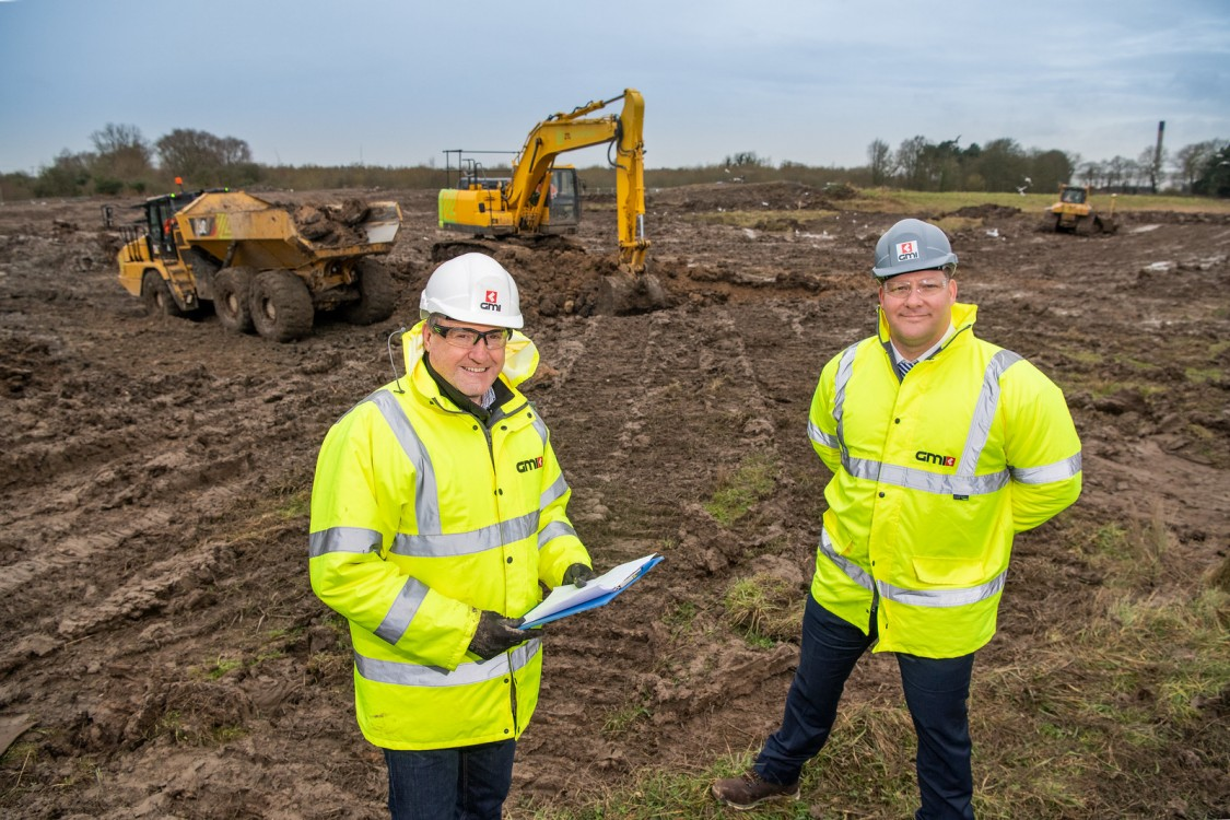 GMI Lee Powell and Mike Kershaw onsite at Goole