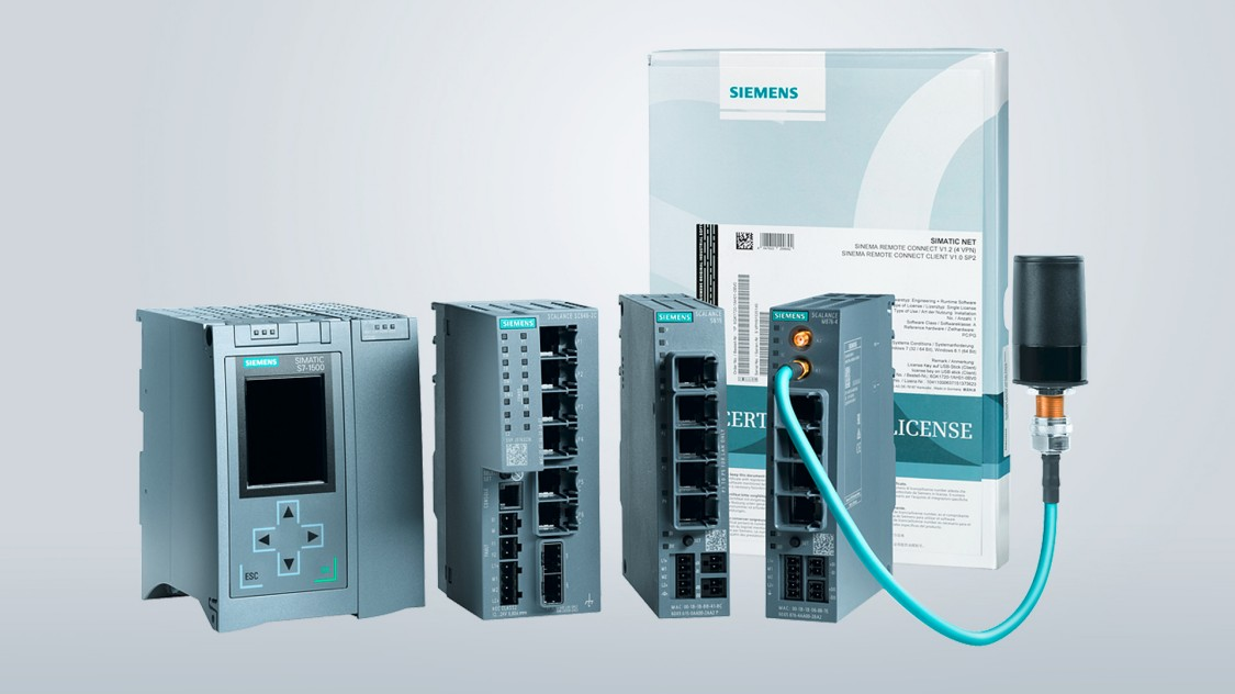 Bild von Produkten für Industrial Security