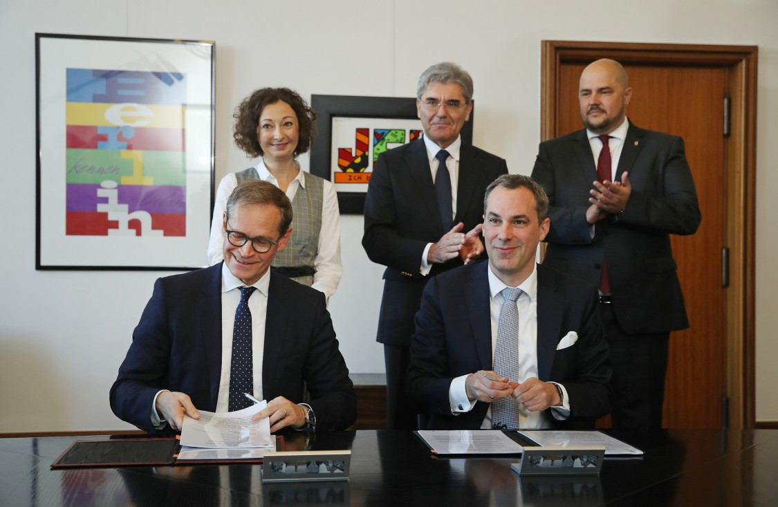 Siemens unterzeichnet Zukunftspakt