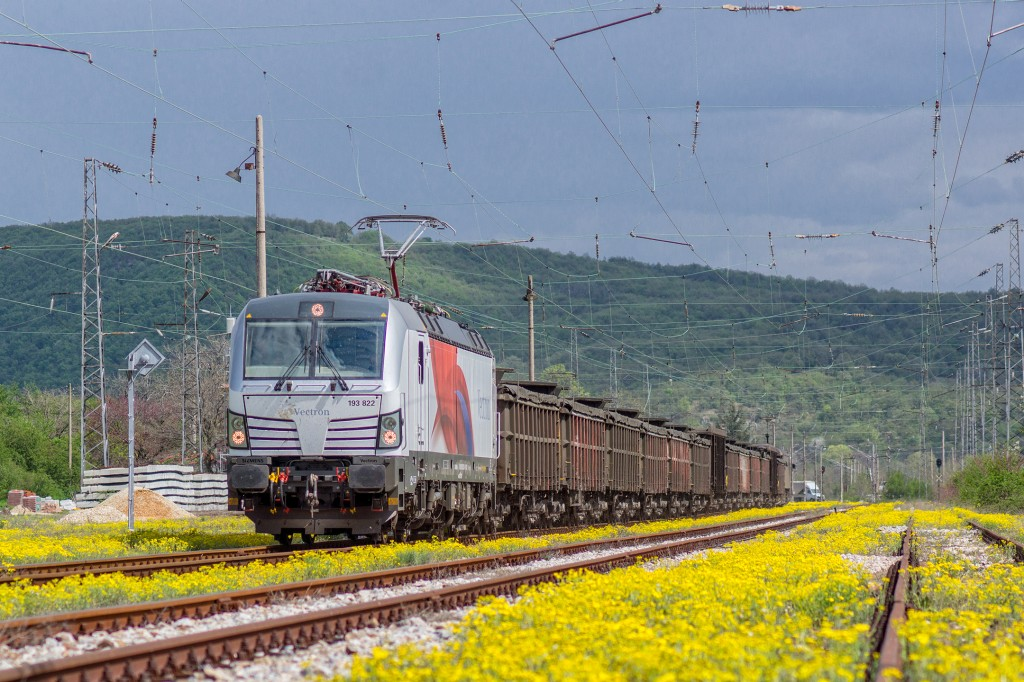 Vectron authorization tests in Bulgaria