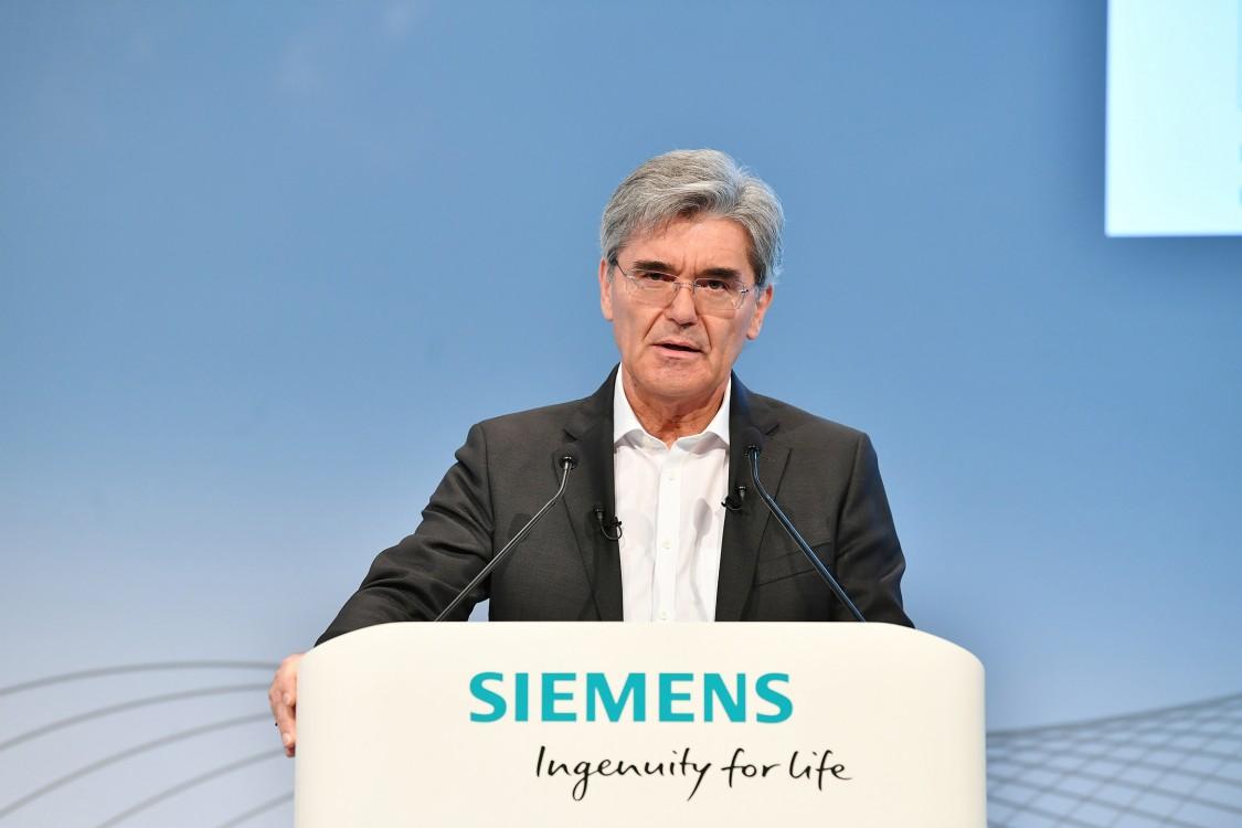 Joe Kaeser, CEO Siemens AG