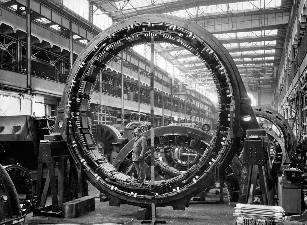 Dynamowerk Berlin around 1929