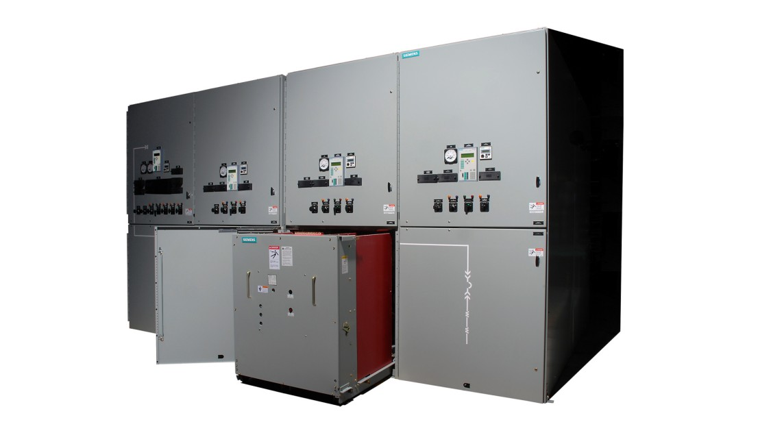 Air-insulated, non-arc-resistant, metal-clad, 38 kV switchgear, type GM38