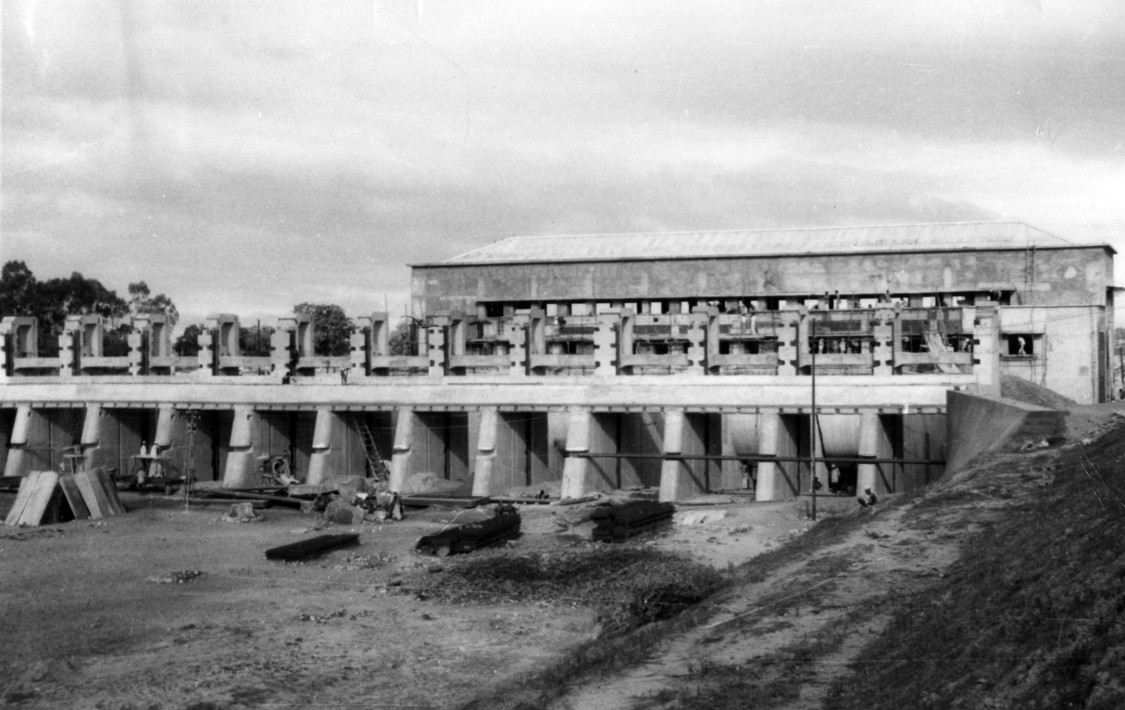 Laying the cornerstones of power generation – various phases of building the Pathri power plant, 1955