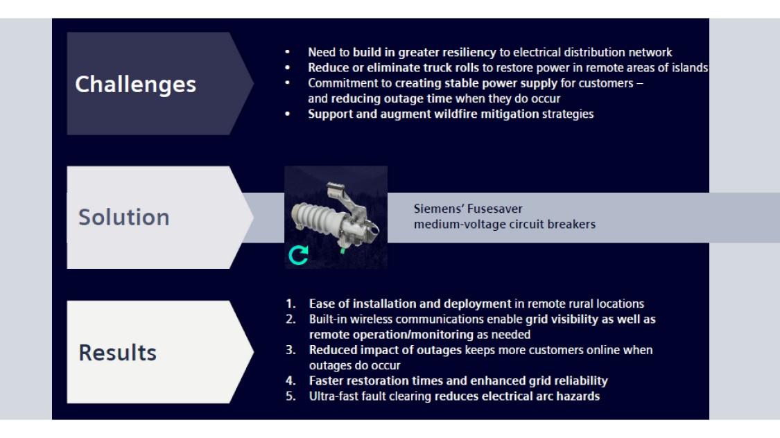 Hawaiian Electric enhances reliability with Siemens' Fusesaver