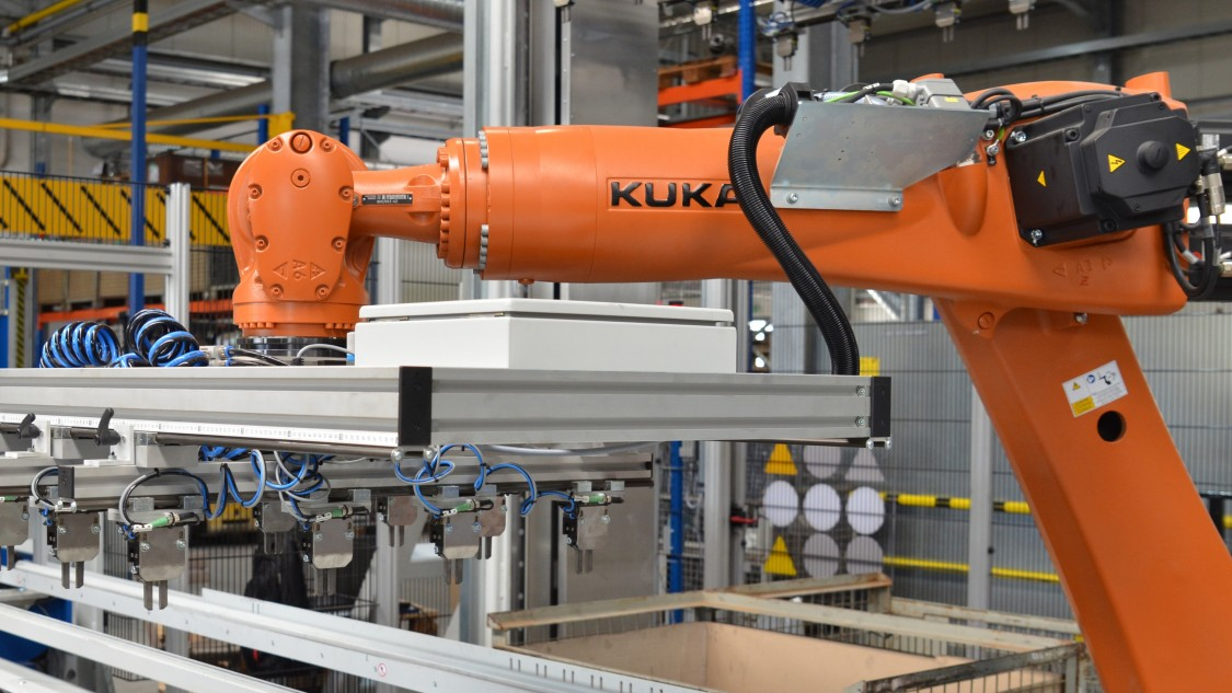 Robotersteuerung mit SIMATIC