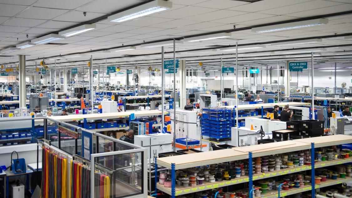 Siemens Poole Digital award winning factory