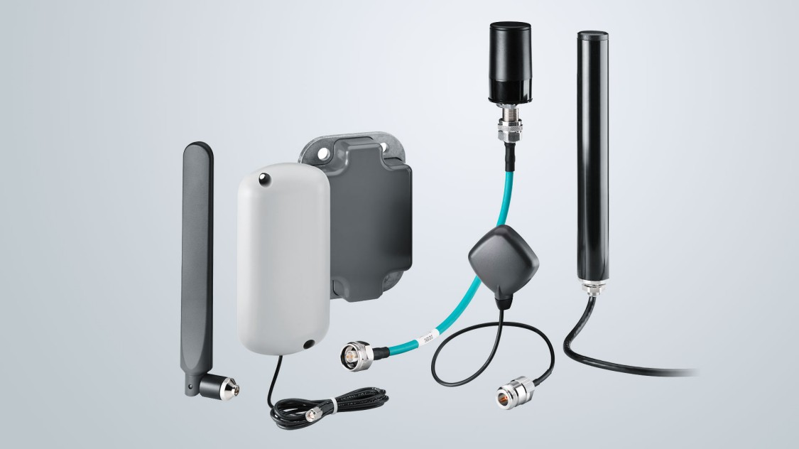Image of mobile wireless antennas