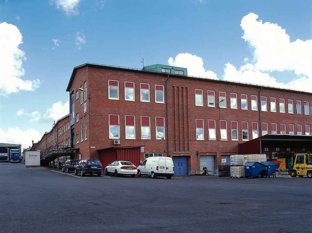 Foto: SKF. Högautomatiserade D-fabriken i Göteborg.