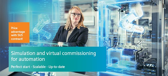 Simulation and virtual commissioning for automation