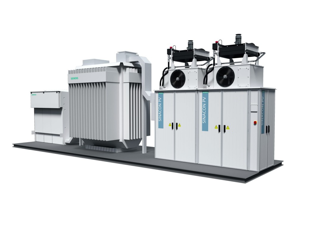 SINACON PV Photovoltaic Central Inverter   Systems   Siemens