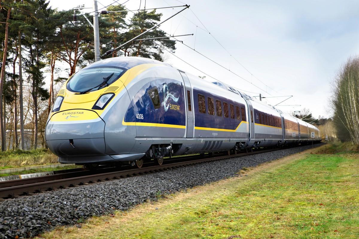 Eurostar e320 high-speed trains for Eurostar International Limited