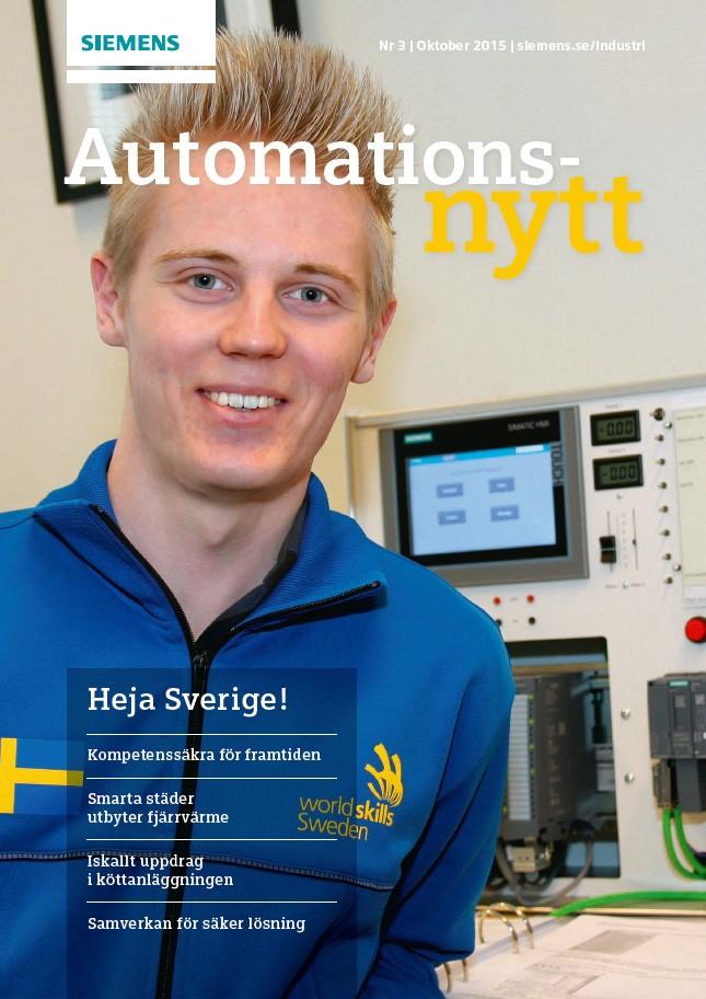 Automationsnytt Nr 3 | Oktober 2015