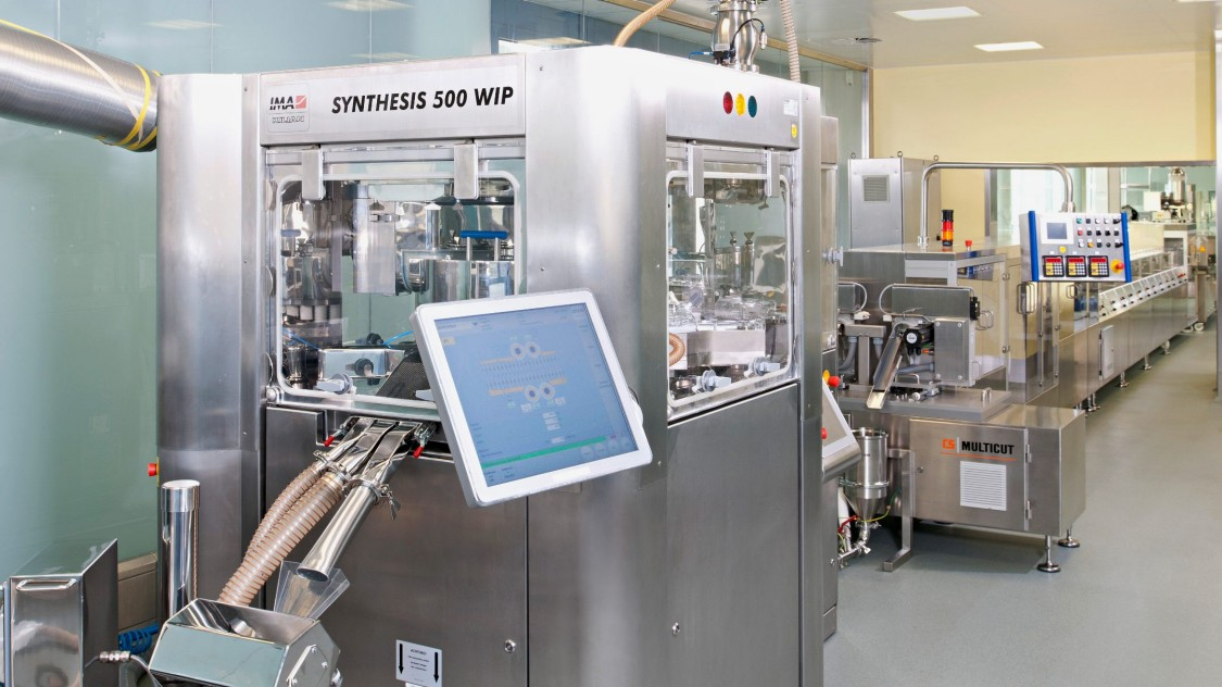 Digital solutions for continuous manufacturing in practice: Grünenthal